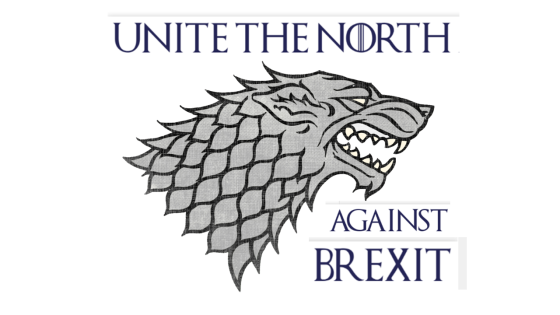 180726 Unite the North against Brexit logo