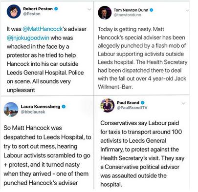 leeds infirmary tweets