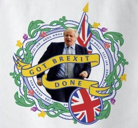 200131 brexit tea towel